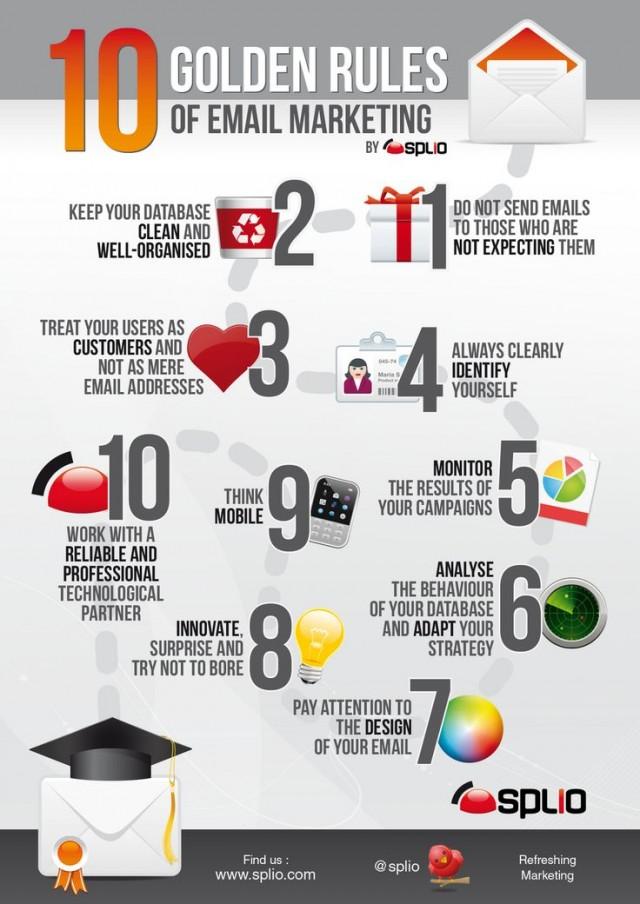 10 Goldene E-Mail Marketing Tipps