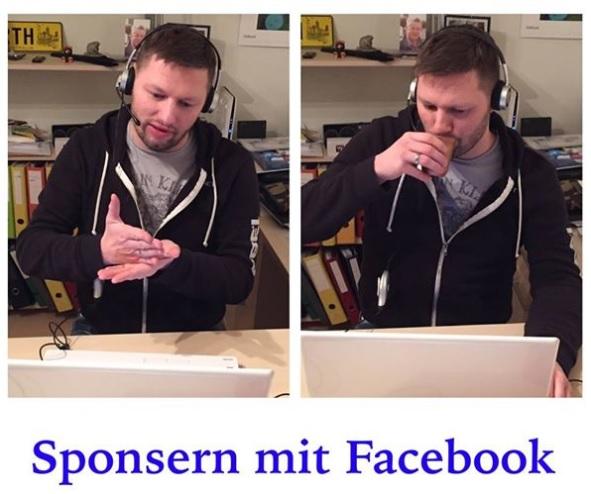Frank Heister Mission Web Sponsern mit Facebook