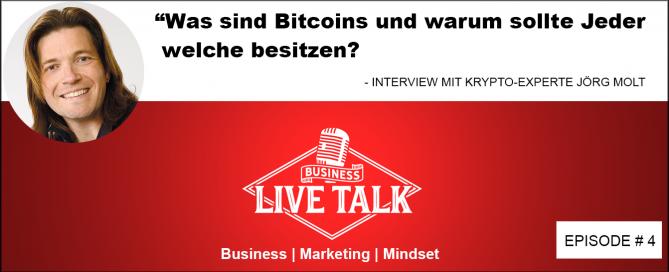 Bitcoin Kryptowährung Experte Jörg Molt