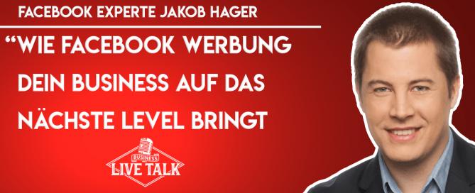 Jakob Hager - Facebook Werbung erfolgreich