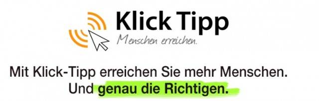 Klick Tipp E-Mail Marketing